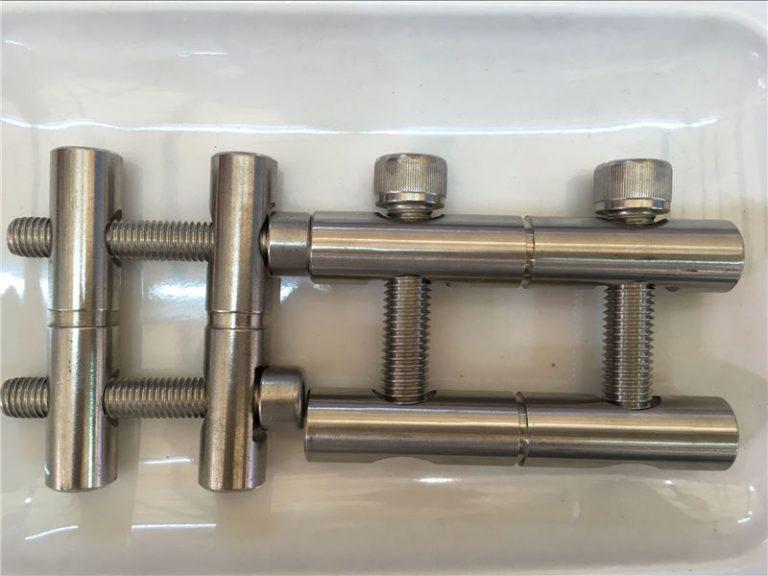 ansi 316ti / pt 1.4571, 317l / pt 1.4438 série de barras de conexão em aço inoxidável