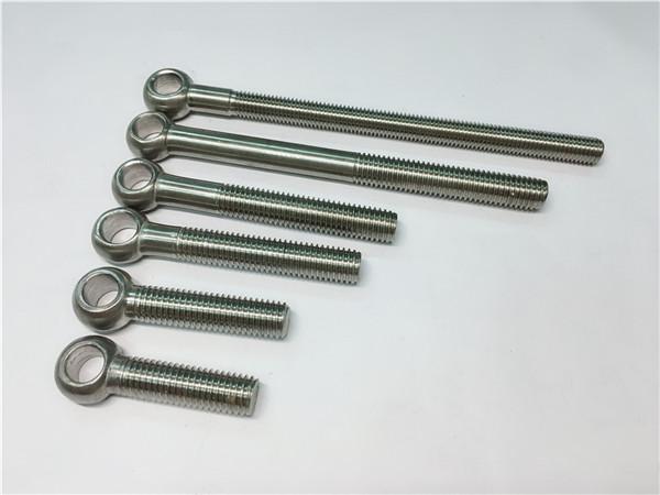 904l / 1.4539 / uns n08904 parafusos de olhal, parafusos personalizados para montagem de válvulas