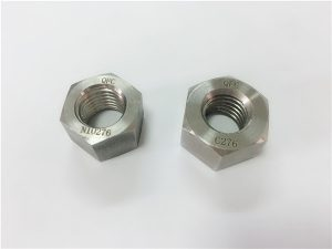 No.108-fabricante de ligas especiais fixadores hastelloy C276 porcas