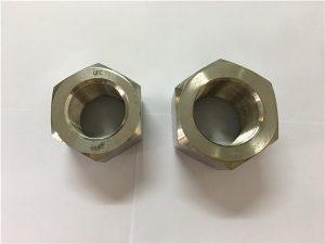 No.111-Fabricação de liga de níquel A453 660 1.4980 porcas sextavadas