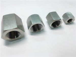 No.31-durável em uso personalizado usinagem de rosca sextavada sextavado porca de aço inoxidável