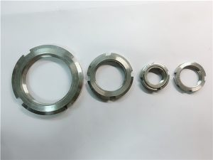 No.33-China fornecedor feito em aço inoxidável porca redonda