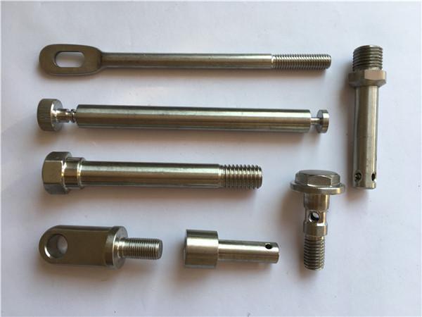 prendedores de aço inoxidável de recorte prendedores de metal de giro cnc