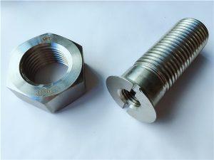 No.55-alta qualidade duplex 2205 parafusos e porcas de aço inoxidável