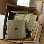 S32205 super duplex personalizado (f60) aço inoxidável placa quadrada lavadora / fixador