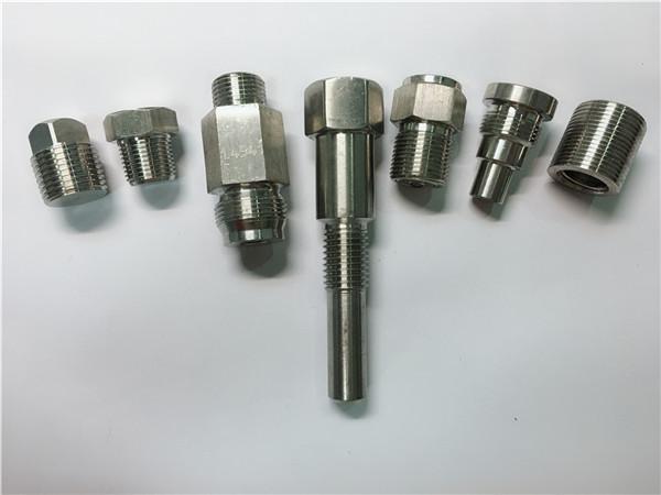 pregos de aço inoxidável da máquina do torno do oem da alta qualidade feitos de fazer à máquina do cnc