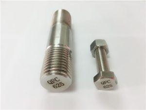No.71-625 fixadores inconel em níquel