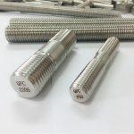 duplex 2205 s32205 2507 s32750 1.4410 de alta qualidade hardware prendedor de madeira haste com rosca âncora