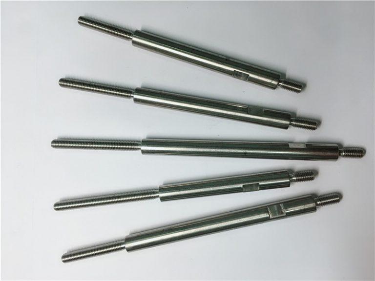 usinagem de precisão cnc prendedores de aço inoxidável com rosca