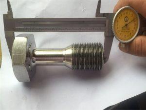 Personalizado cnc virou peças de precisão usinagem de parafuso de fixação
