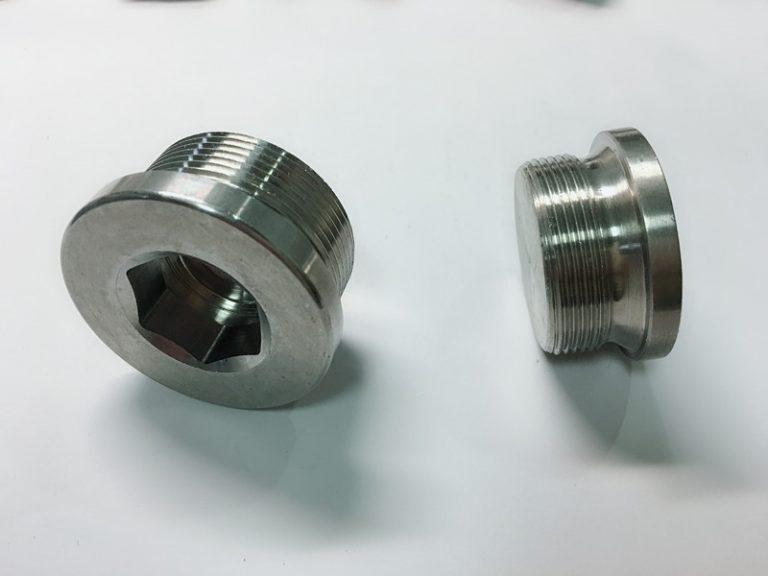 parafuso de anel de aço inoxidável feito-à-medida com anel chave dos ss