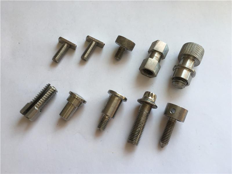 parafuso não padronizado personalizado da elevada precisão, parafuso fazendo à máquina do aço inoxidável do cnc