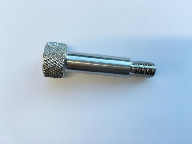 tampão de cabeça hexagonal de soquete personalizado parafuso de ombro de aço inoxidável 18-8