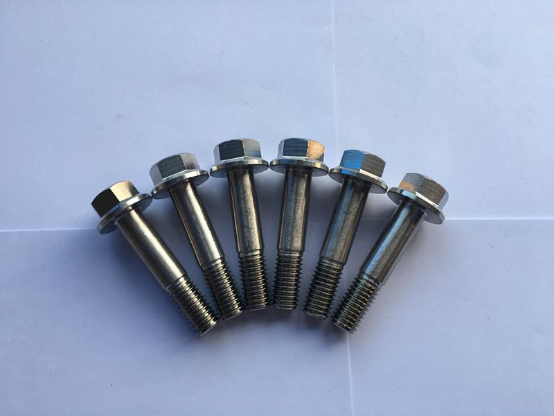 din 7504 super duplex f55 aço inoxidável sextavado flange cabeça parafuso auto-perfuração
