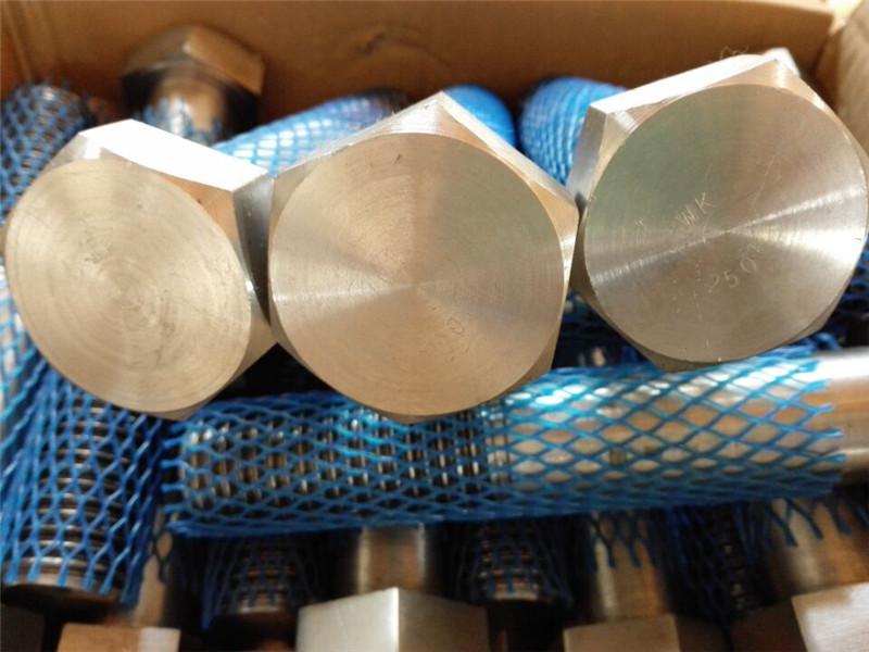 grande fornecimento de parafusos mecânicos de alta pressão parafuso sextavado pesado e porca